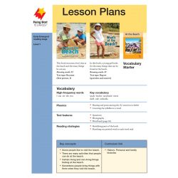 Lesson Plan - A Day at the Beach | What's at the Beach? LP