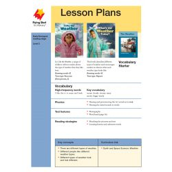 Lesson Plan - I Like the Weather  What's the Weather Today? LP