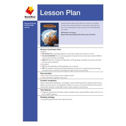 Lesson Plan - Awesome Oceans