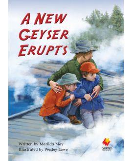 A New Geyser Erupts